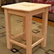 Для дома и интерьера ручной работы. Ярмарка Мастеров - ручная работа Табуреты из сосны. Handmade.