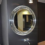 Для дома и интерьера ручной работы. Ярмарка Мастеров - ручная работа Зеркало в мозаичной раме, из зеркальной мозаики. Handmade.