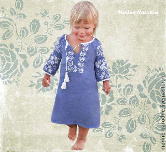 Платье вышиванка для девочки ВОЛОШКА 2  Платье в пол, Детские вышиванки, Бохо шик. Детские вышиванки Вышиванка детская Дизайнерские платья Вышитые платья  Творческое ателье Modne-Narodne.