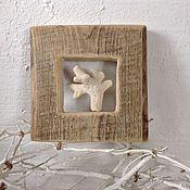 Подарки к праздникам ручной работы. Ярмарка Мастеров - ручная работа Рамка ` коралл`. Handmade.