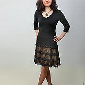 Одежда ручной работы. Ярмарка Мастеров - ручная работа Платье вязаное 4488. Handmade.