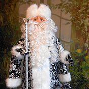 Куклы и игрушки handmade. Livemaster - original item Grandfather frost and snow maiden textile doll. Handmade.