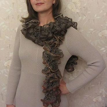 Аксессуары ручной работы. Ярмарка Мастеров - ручная работа Вязаные шарфы в ассортименте. Handmade.