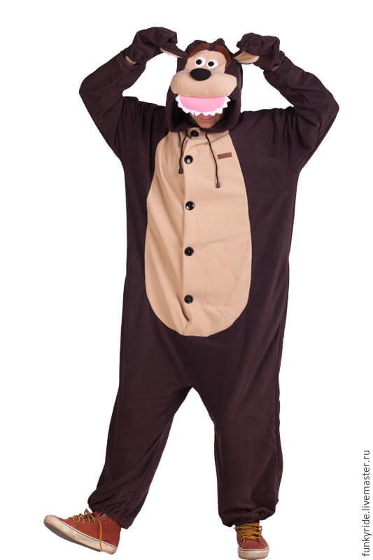Аниме ручной работы. Ярмарка Мастеров - ручная работа. Купить Костюм кигуруми  Медведь FUNKY BEAR ... bf3f8d32f57b2