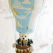 """Для дома и интерьера ручной работы. Ярмарка Мастеров - ручная работа Воздушный шар """"Вперёд! К мечте!"""". Handmade."""