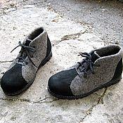 Обувь ручной работы. Ярмарка Мастеров - ручная работа Мужские ботинки для зимы.. Handmade.