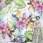 Материалы для творчества handmade. Livemaster - original item Copy of Chiffon silk итальянские ткани. Handmade.
