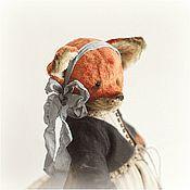 Куклы и игрушки ручной работы. Ярмарка Мастеров - ручная работа Family fox - Liza- ХТ2015. Handmade.