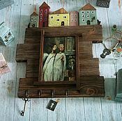 Для дома и интерьера handmade. Livemaster - original item The housekeeper of the House in which... The housekeeper decoupage. Handmade.