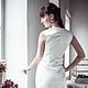Платья ручной работы. Платье белое. Apilat wedding dresses and lingerie. Интернет-магазин Ярмарка Мастеров. Платье коктельное