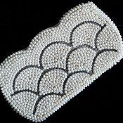 Винтаж ручной работы. Ярмарка Мастеров - ручная работа -20% Japan Клатч Жемчужный 1950е винтажные аксессуары винтаж. Handmade.