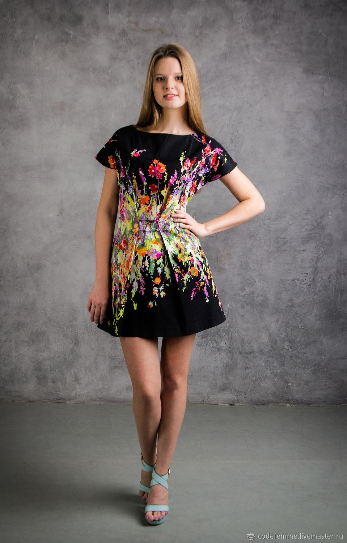 Платья ручной работы. Ярмарка Мастеров - ручная работа. Купить Распродаж Летнее платье из хлопка. Handmade. Платье, распродажа