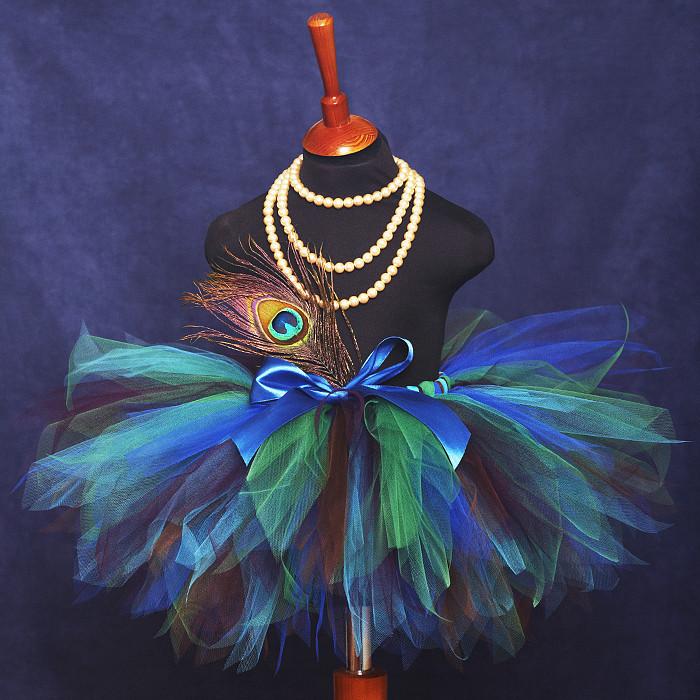 Новогодние костюмы павлин для девочек своими руками