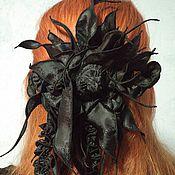 Украшения ручной работы. Ярмарка Мастеров - ручная работа Резинка для волос из авторской фактуры ткани ЮЛА/YULA. Handmade.
