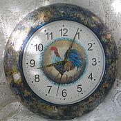 """Подарки к праздникам ручной работы. Ярмарка Мастеров - ручная работа Часы """"Мы проснемся на рассвете..."""". Handmade."""