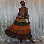 """Одежда ручной работы. Ярмарка Мастеров - ручная работа юбка """"Солнечная"""". Handmade."""