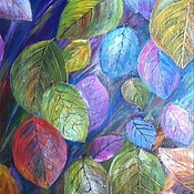 """Картины и панно ручной работы. Ярмарка Мастеров - ручная работа Картина """"Листопад"""". Handmade."""