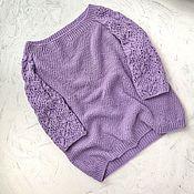 Пуловеры ручной работы. Ярмарка Мастеров - ручная работа Пуловеры: Бабочки. Handmade.