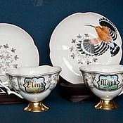 Посуда ручной работы. Ярмарка Мастеров - ручная работа Чайный комплект для семейно пары УДОДЫ. Handmade.
