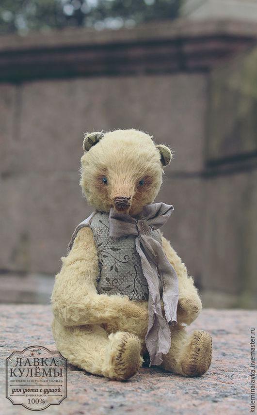 Мишки Тедди ручной работы. Ярмарка Мастеров - ручная работа. Купить Тедди медведь. Handmade. Золотой, мишка тедди, игрушка