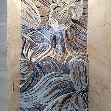 Для дома и интерьера ручной работы. Ярмарка Мастеров - ручная работа Мозаичное панно из смальты. Handmade.