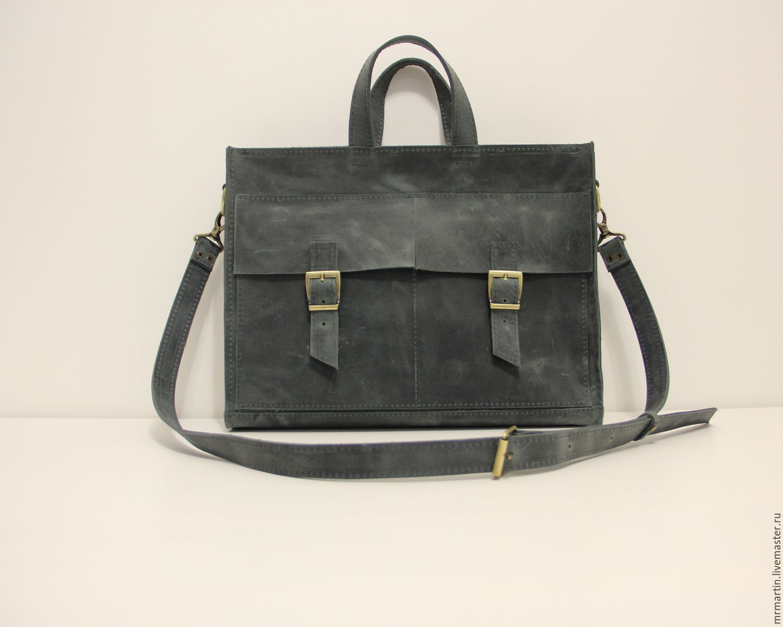 9fd238e04a3c Женские сумки ручной работы. Заказать Сумка кожаная для большого ноутбука  15,6 и документов ...