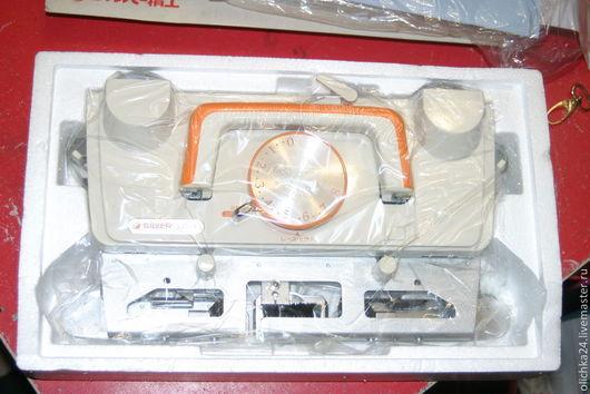 Вязание ручной работы. Ярмарка Мастеров - ручная работа. Купить Ажурная каретка Silver LC-1. Handmade. Разноцветный, пластик