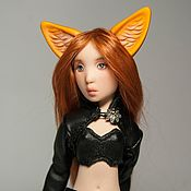 Куклы и игрушки handmade. Livemaster - original item Articulated doll BJD Girl-Fox polyurethane. Handmade.