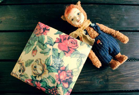 """Винтажные куклы и игрушки. Ярмарка Мастеров - ручная работа. Купить Тедди Долл """"Тото"""" - бельчонок. Handmade. Тедди долл, Ладолл"""