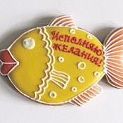 Сувениры и подарки ручной работы. Ярмарка Мастеров - ручная работа Золотая рыбка.. Handmade.