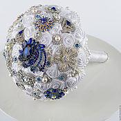 handmade. Livemaster - original item Brooch-Bouquet