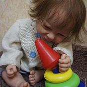 Куклы и игрушки ручной работы. Ярмарка Мастеров - ручная работа Позитивчик-кукла реборн продан. Handmade.