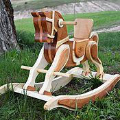 Куклы и игрушки handmade. Livemaster - original item Horse Rocking. Handmade.