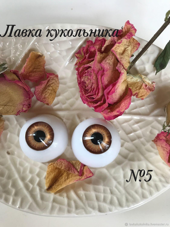 Глаза для кукол 22мм, Глаза и ресницы, Москва,  Фото №1