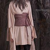 Одежда handmade. Livemaster - original item Belt-peplum Merino wool. Handmade.