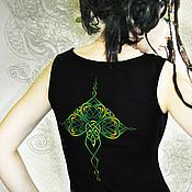 Одежда ручной работы. Ярмарка Мастеров - ручная работа комплект Трилистник (топ+стринги). Handmade.