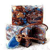 """Косметика ручной работы. Ярмарка Мастеров - ручная работа Мыло ручной работы """"Океан"""", мыло, сапфир, синий, подарки на 23 февраля. Handmade."""