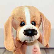 Куклы и игрушки ручной работы. Ярмарка Мастеров - ручная работа Пёс Бобо. Handmade.