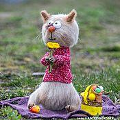 Куклы и игрушки handmade. Livemaster - original item Toy crochet: Vasilisa soulful cat. Handmade.