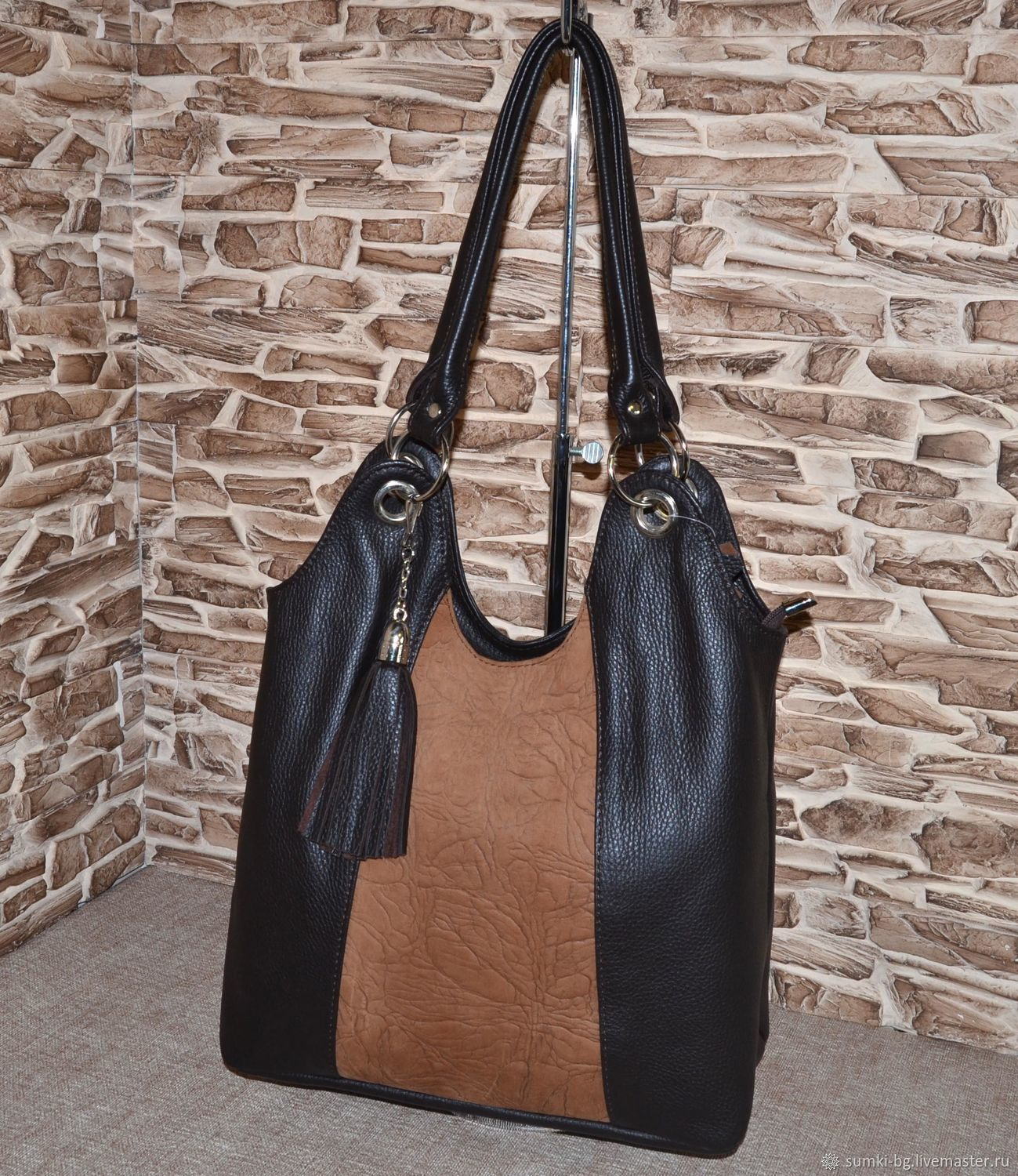 Model 24 is a Roomy shopping bag for every day, Classic Bag, Bogorodsk,  Фото №1