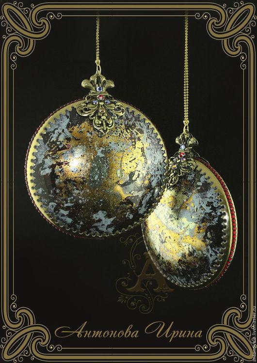 Елочные украшения-`Вселенная`,для дома ручной работы.Антонова Ирина.Ярмарка Мастеров.