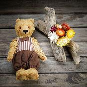 Куклы и игрушки ручной работы. Ярмарка Мастеров - ручная работа тедди мишка Юджин. Handmade.