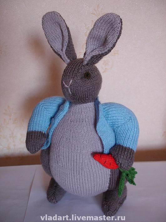 Игрушки животные, ручной работы. Ярмарка Мастеров - ручная работа. Купить Кролик. Handmade. Кролик, заяц игрушка