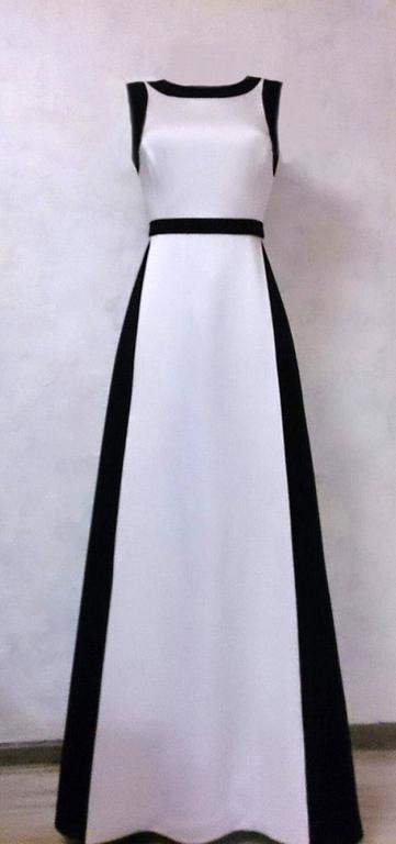 """Платья ручной работы. Ярмарка Мастеров - ручная работа. Купить Вечернее платье """"Монтенегро"""". Handmade. Белый, платье"""