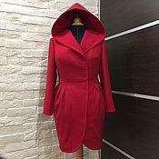 Одежда ручной работы. Ярмарка Мастеров - ручная работа Пальто Тюльпан с капюшоном. Handmade.
