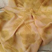 Аксессуары ручной работы. Ярмарка Мастеров - ручная работа Кашемировый шарф Сахара, шерстяной шарф женский экопринт. Handmade.