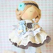 """Куклы и игрушки ручной работы. Ярмарка Мастеров - ручная работа Текстильная интерьерная кукла """"Белокурая малышка"""". Handmade."""