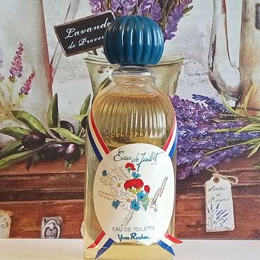 Винтаж ручной работы. Ярмарка Мастеров - ручная работа Eau de Juillet, Yves Rocher, edt, 150 мл (раритет). Handmade.