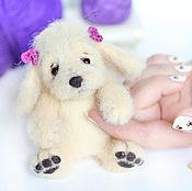 Подарки к праздникам ручной работы. Ярмарка Мастеров - ручная работа собачка Шанти валяная игрушка щенок. Handmade.