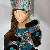 """Аксессуары ручной работы. Ярмарка Мастеров - ручная работа Комплект""""Нежность"""" шапка+шарф+рукавички. Handmade."""